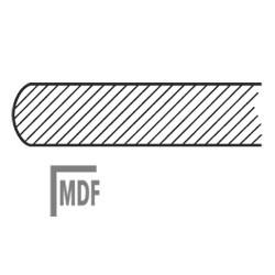 MDF Stolová deska dřevěná-dýha na MDF, 18 mm.