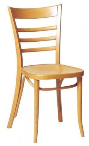 Dřevěná židle 311 085 Pilsen