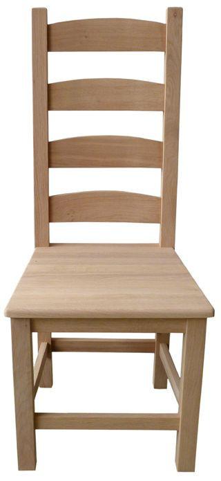 Dřevěná židle Julie - Dubová