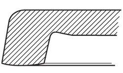 Stolová deska Ponderosa grey 179