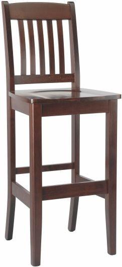 Barová dřevěná židle Art 41 - třešeň