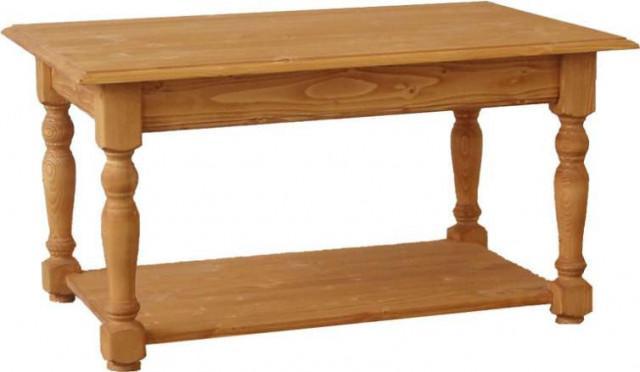 Konferenční stolek dřevěný 00404