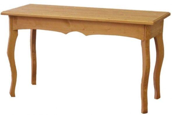 Stolek odkládací dřevěný 00451