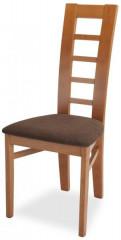 Jídelní židle Niger - třešeň/micra marone