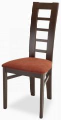 Jídelní židle Niger - tm. hnědá/micra teracota