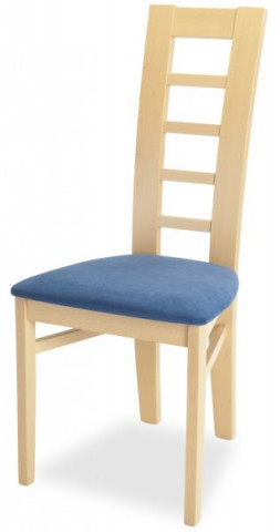 Jídelní židle Niger - buk/micra blue