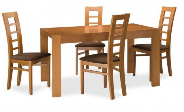 Jídelní židle Niger - stůl Katka + židle Niger