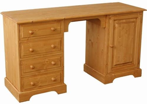Dřevěný psací stůl 00430