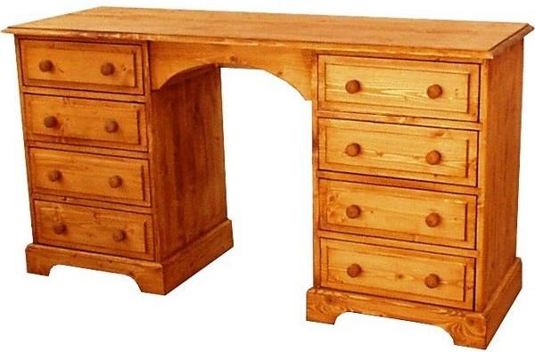 Dřevěný psací stůl 00431