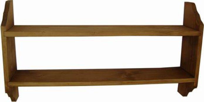 Unis Polička dřevěná závěsná 00900 kód 00900 52x14x40