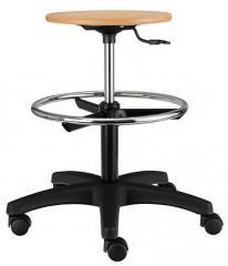 Pracovní židle Nora dřevěná