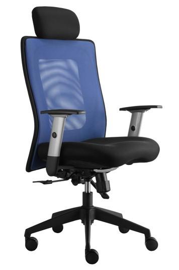 Alba Kancelářská židle Lexa s podhlavníkem