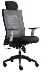Kancelářská židle Lexa s podhlavníkem