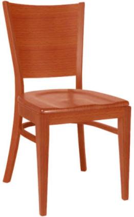 TON Dřevěná židle 311 917 Norma - stohovatelná