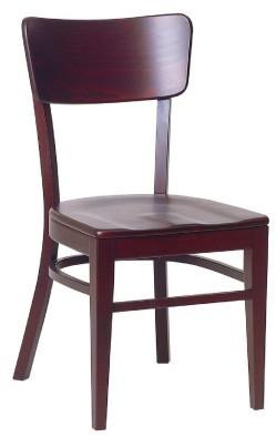Dřevěná židle 311 920 - stohovatelná