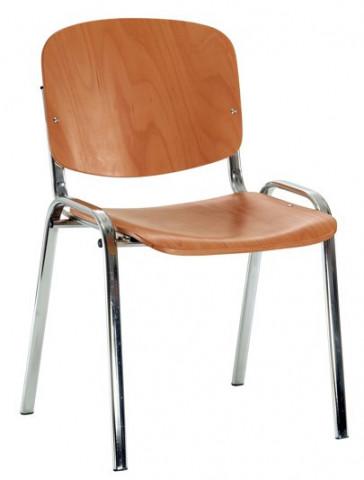 Konferenční židle Iso dřevěná