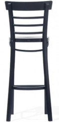 Barová dřevěná židle 311 295