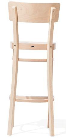 Barová dřevěná židle 311 485 Ideal