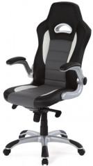 Kancelářská židle KA-E240B - GREY - černá/šedá
