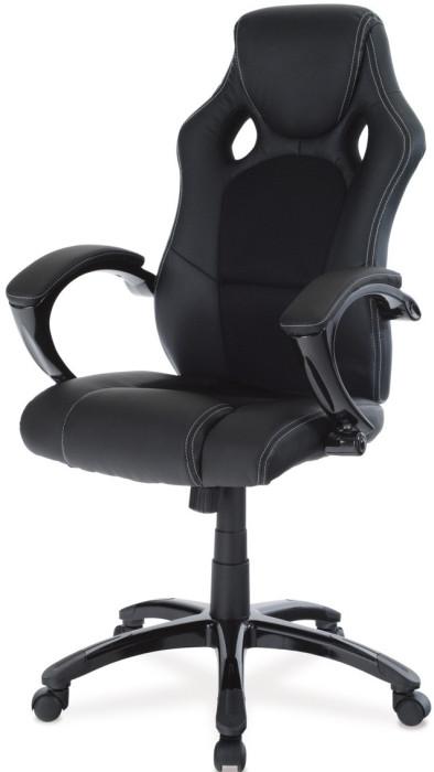 Autronic Kancelářská židle KA-N157 RED - Červená