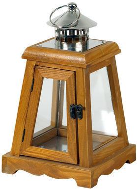 Dřevěná lucerna LUC005