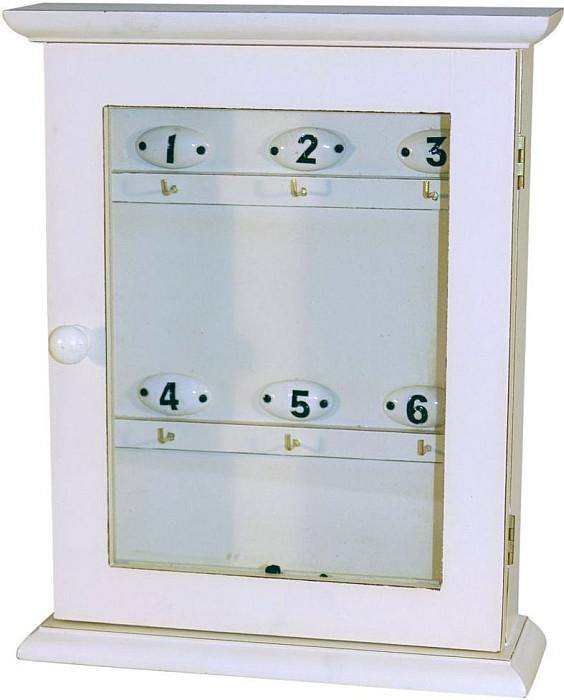 Skříňka na klíče dřevěná.