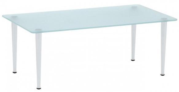 Alba Konferenční stolek Quattro - obdélník Sklo čiré