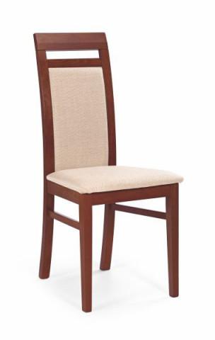 Jídelní židle Albert - Třešeň antická/MESH1