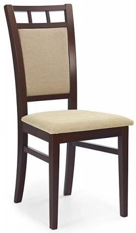 Jídelní židle Franco - Ořech tmavý/TORENT BEIGE