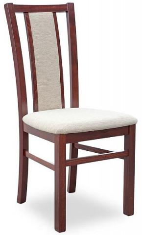 Jídelní židle Gerard 8 - ořech tmavý/TORENT BEIGE