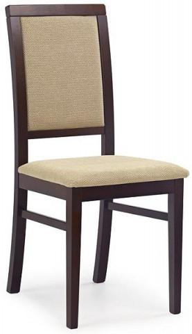 Jídelní židle Sylwek 1 -ořech tmavý/TORENT BEIGE