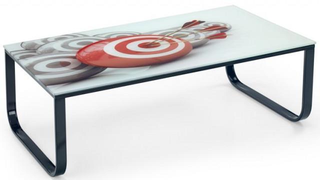 Konferenční stolek s potiskem AF-1010 - ARW - šíp