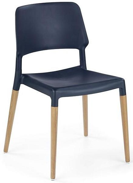 Halmar Jídelní židle K163 červená