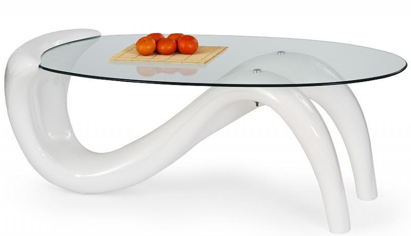 Halmar Konferenční stolek Cortina bílý