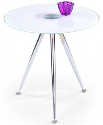 Odkládací stolek Siena, bílý
