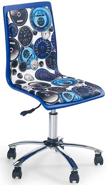 Halmar Židle dětská Fun 8 - modrá