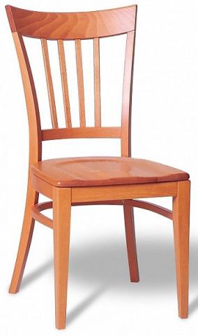 Dřevěná židle 311 202 Riga - stohovatelná