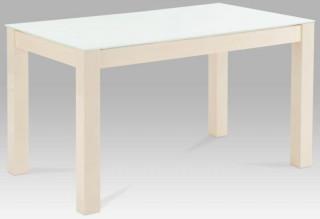 Jídelní stůl AT-2089 - AT-2089 VAN bílé sklo