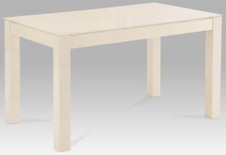 Jídelní stůl AT-2089 - AT-2089 VAN2 vanilkové sklo