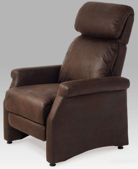 Autronic Relaxační křeslo TV-8057 BR3 - hnědá