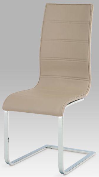 Autronic Jídelní židle WE-5021 CAP - cappuccino