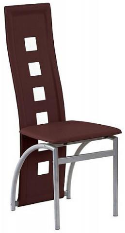 Jídelní židle K4 M - hnědá