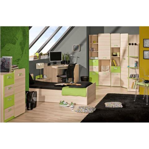 Skříňka EGO L5 - zelená