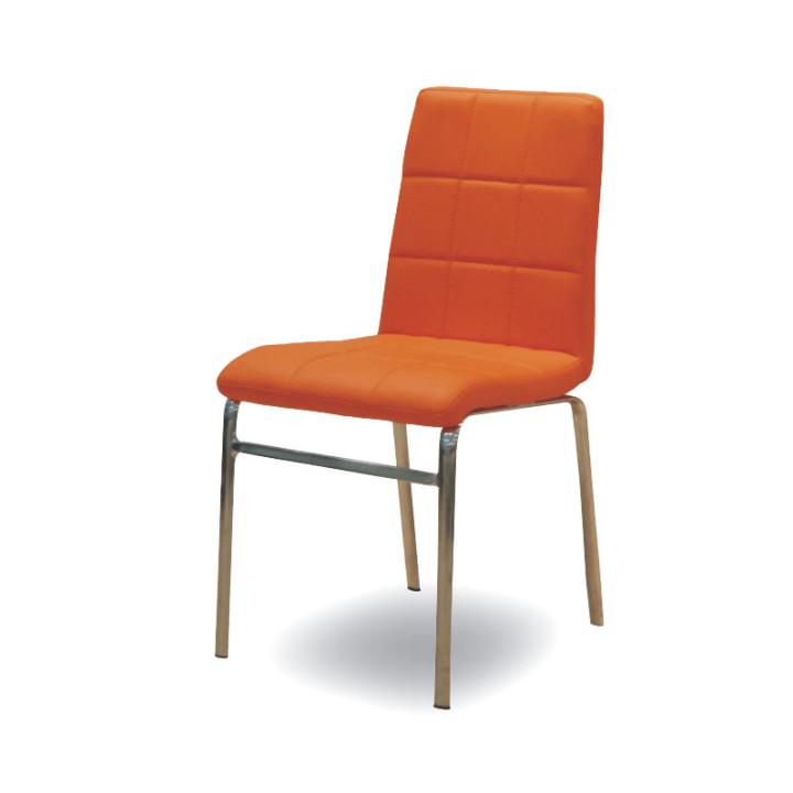 Tempo Kondela Jídelní židle DOROTY NEW - oranžová