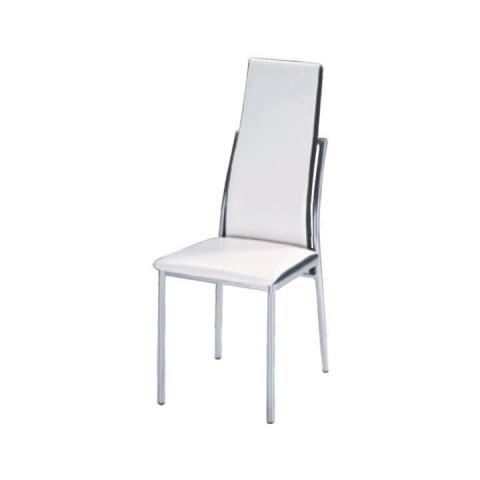 Jídelní židle ZORA - bílá
