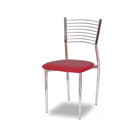 Jídelní židle ZAIRA - červená