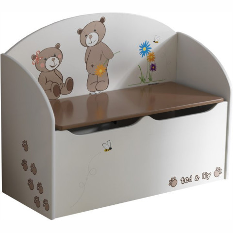 Krabice na hračky PUFF 234549