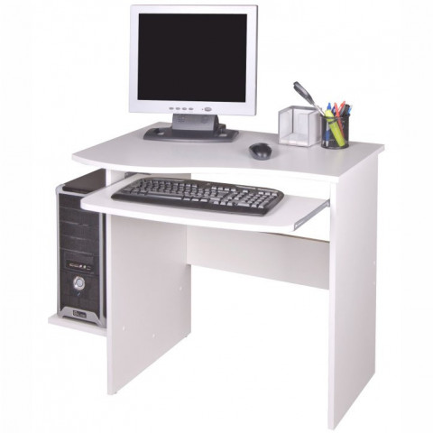 PC stolek MELICHAR - bílý