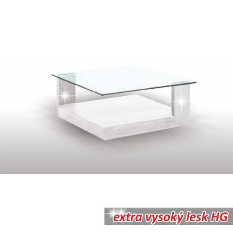 Konferenční stolek EMIL - bílý