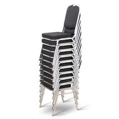 Jednací židle LEJLA - černá